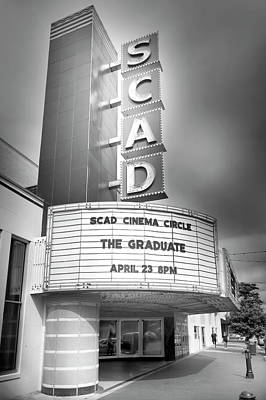 Photograph - Scad Marquee by Mark Andrew Thomas