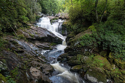 Photograph - Scadin Falls by Chris Berrier