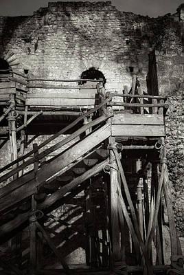 Photograph - Scaffold by Hugh Smith