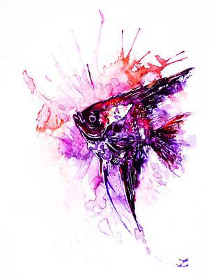 Painting - Scalare  by Zaira Dzhaubaeva