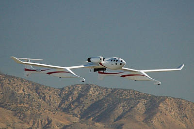 Scaled Composites White Knight Print by Brian Lockett