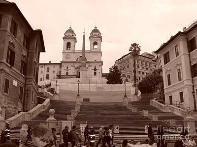 Photograph - Scalinata by Tiziana Maniezzo