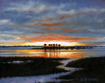 Painting - Scallop Country by Rick McKinney