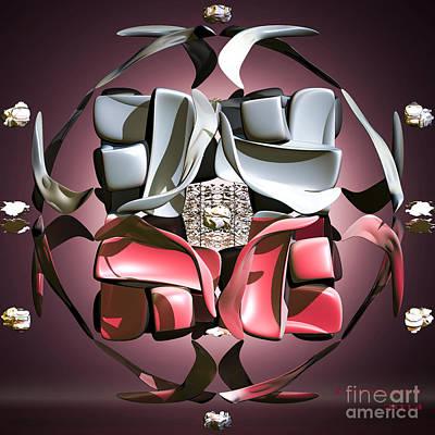 Digital Art - Scallops by Melissa Messick