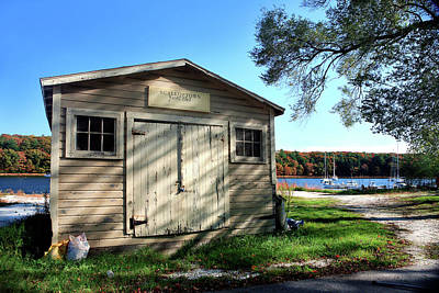 Photograph - Scalloptown Yacht Club by Lon Casler Bixby