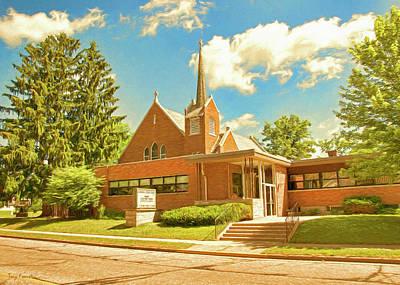Photograph - Scandinavia Lutheran Church by Trey Foerster