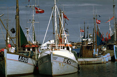 Photograph - Scandinavian Fisher Boats by Flavia Westerwelle