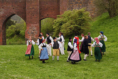 Photograph - Scandinavian Folk Dance by Inge Riis McDonald