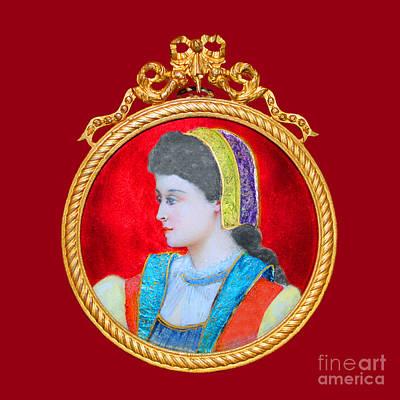 Scandinavian Maiden Limoge Original