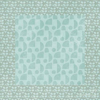 Digital Art - Scandinavian Quilt Pillow Design 1 by Edward Fielding