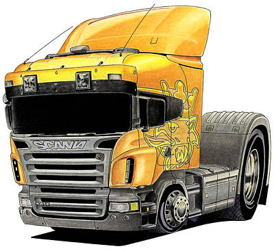 Scania Toon Original by Lyle Brown