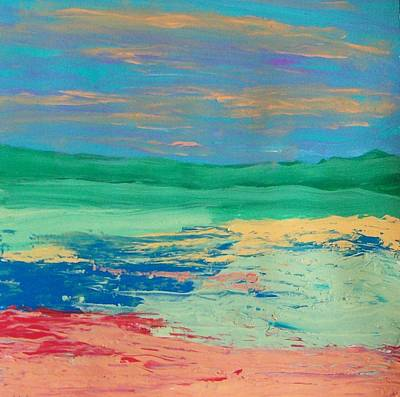 Painting - Scape by Helene Henderson