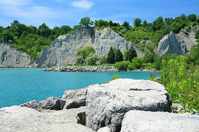 Photograph - Scarborough Bluffs by Frank Townsley