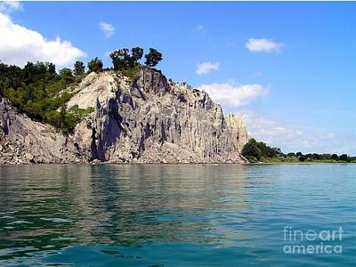 Art Print featuring the photograph Scarborough Bluffs-lake View by Susan  Dimitrakopoulos