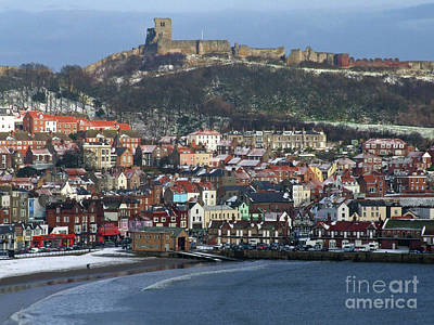 Photograph - Scarborough Town And Castle  by Phil Banks