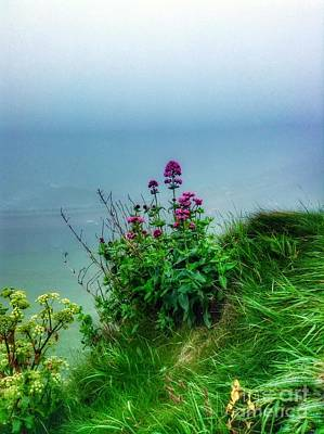 Photograph - Scarborough In The Mist 2 by Joan-Violet Stretch