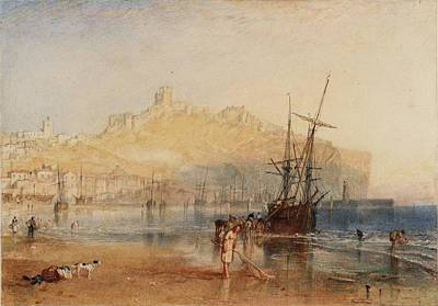 Scarborough Painting - Scarborough by Joseph Mallord