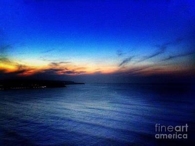 Photograph - Scarborough Sunset by Joan-Violet Stretch
