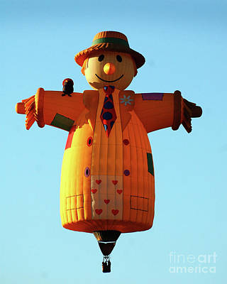Photograph - Scarecrow Balloon by Diane E Berry