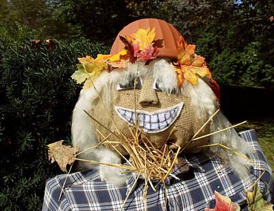 Photograph - Scarecrow by Joseph Skompski