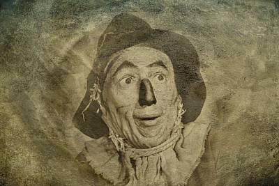 Wizard Of Oz Digital Art - Scarecrow by Movie Poster Prints