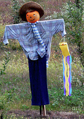 Photograph - Scarecrowing by David Bearden