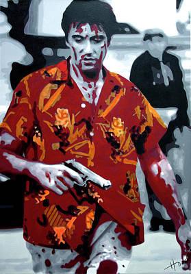 Scarface 2013 Art Print