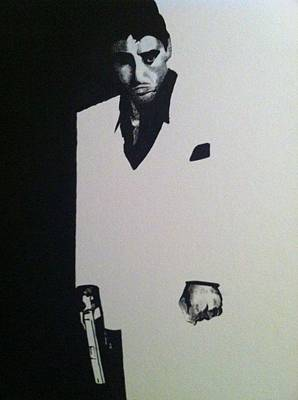 Scarface  Art Print by Davor Sintic