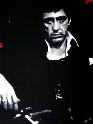Scarface Moody Art Print
