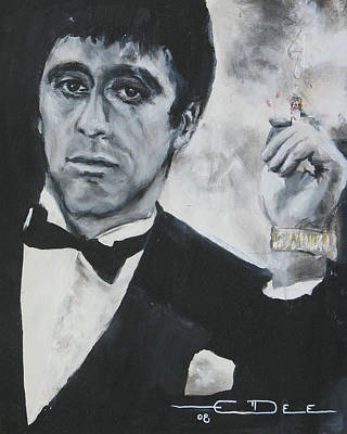 Scarface2 Art Print by Eric Dee