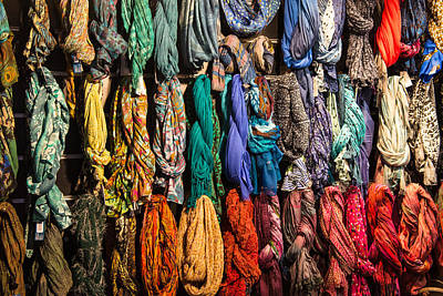 Photograph - Scarfs by Gary Lengyel