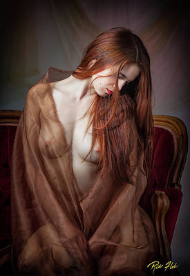 Photograph - Scarlet Repose by Rikk Flohr