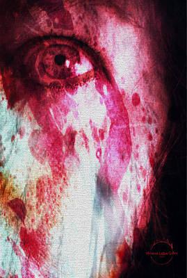 Digital Art - Scarlet Vision by Absinthe Art By Michelle LeAnn Scott