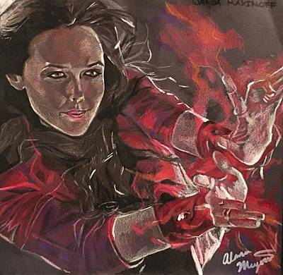 Scarlet Witch Original by Alana Meyers