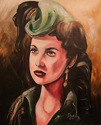 Painting - Scarlett by Henry Blackmon