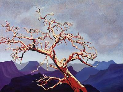 Painting - Scarlett's Live Oak by Vera Smith