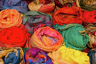 Photograph - Scarves A Plenty by Fran West