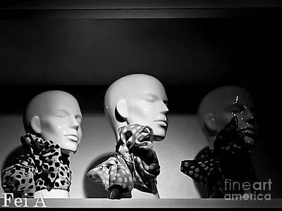 Photograph - Scarves by Fei Alexander
