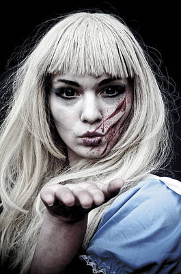 Photograph - Scary Alice by Mick House
