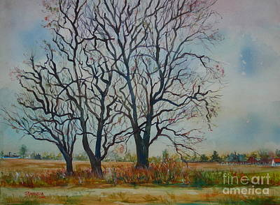 Scary Tree Art Print by Joyce A Guariglia