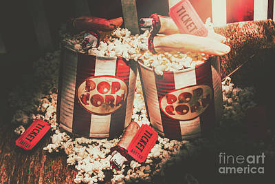 Feed Photograph - Scary Vintage Entertainment by Jorgo Photography - Wall Art Gallery