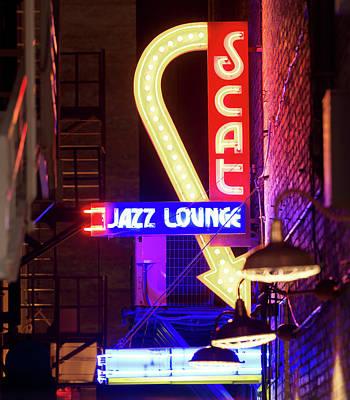 Photograph - Scat Jazz 021018 by Rospotte Photography
