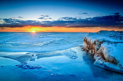 Photograph - Scating On Thin Ice by Michael Damiani