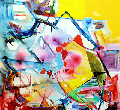 Painting - Scattered Intuitions  by Rojo Chispas