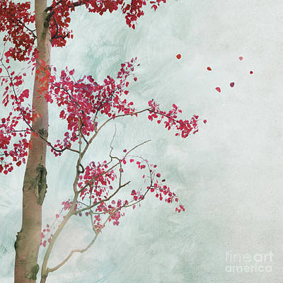 Scattered To The Four Winds Art Print by Priska Wettstein