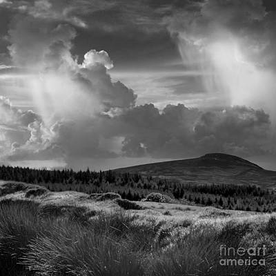 Photograph - Scattering Clouds Over The Cronk by Paul Davenport