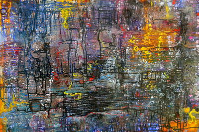 Painting - Schematics Of The Arcane by Regina Valluzzi