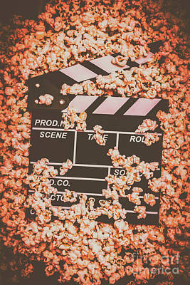 Popcorn Photograph - Scene From A Film Production by Jorgo Photography - Wall Art Gallery