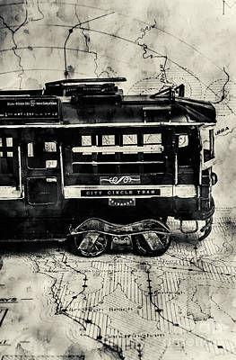 Black And White Art Wall Art - Photograph - Scene From The Old Tramway by Jorgo Photography - Wall Art Gallery