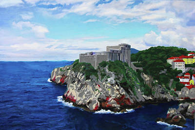 Painting - Fort St Lawrence Game Of Thrones by Deborah Boyd